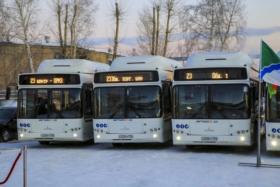 Пятнадцать минских автобусов вышли на маршруты по Новосибирску